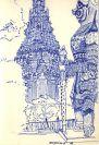 16-Thailand Bangkok tempel 1994